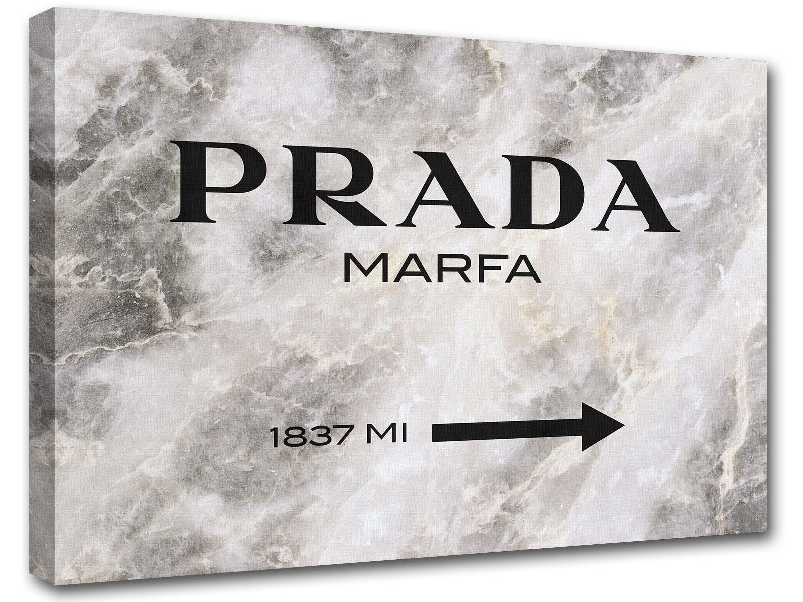 Prada Marfa Gossip Girl Fuchsia And Black Abstract Painting Regarding Prada Wall Art (Image 11 of 20)