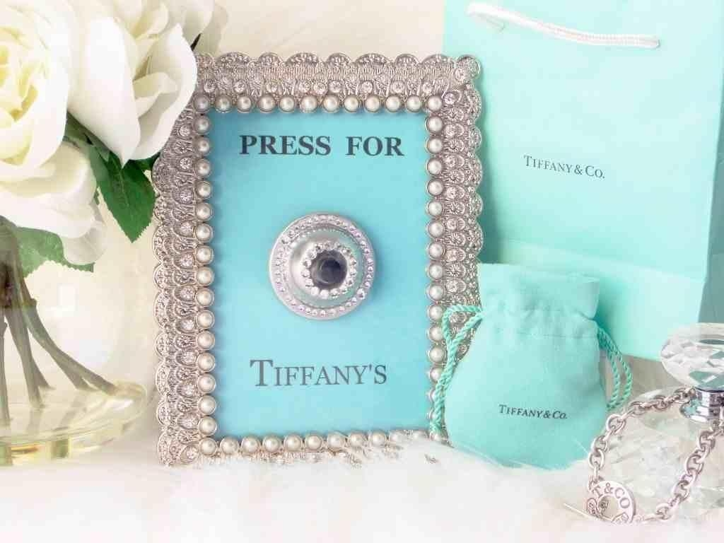 Press For Tiffany's [ Diy Wall Art ] – Youtube In Tiffany And Co Wall Art (Image 18 of 20)
