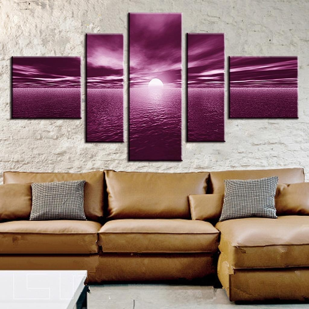 Pretty Canvas Wall Art Sets — The Wooden Houses Pertaining To Plum Wall Art (Image 15 of 20)