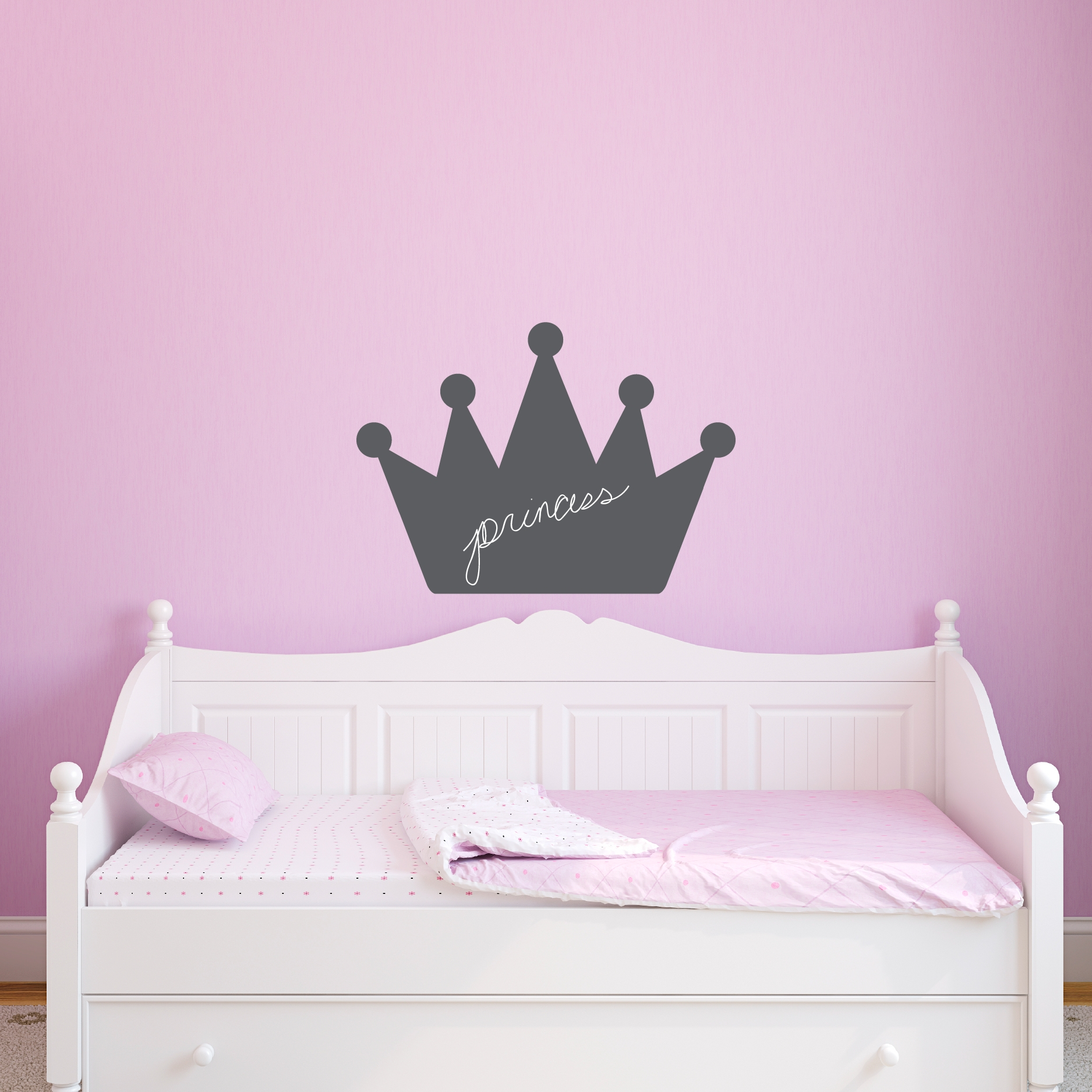 Princess Wall Art Decals ~ Color The Walls Of Your House Inside Princess Crown Wall Art (Image 19 of 20)