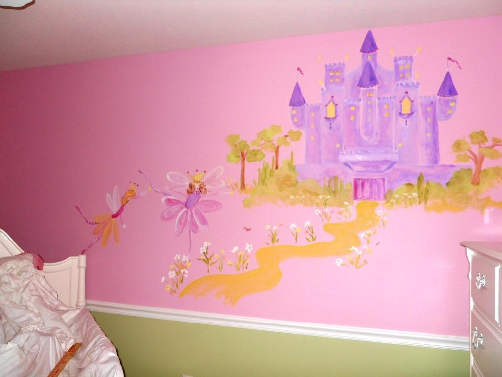 Princess Wall Decals Plan Ideas | Inspiration Home Designs For Disney Princess Wall Art (View 12 of 20)