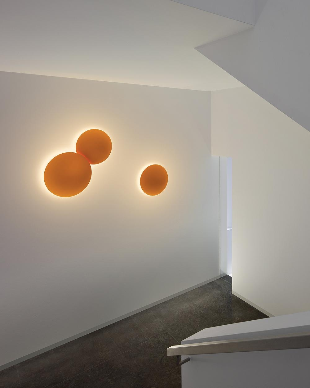 Puck 5466 Wall Art Tripple Lightvibia | Interior Deluxe With Regard To Wall Art Lighting (View 20 of 20)