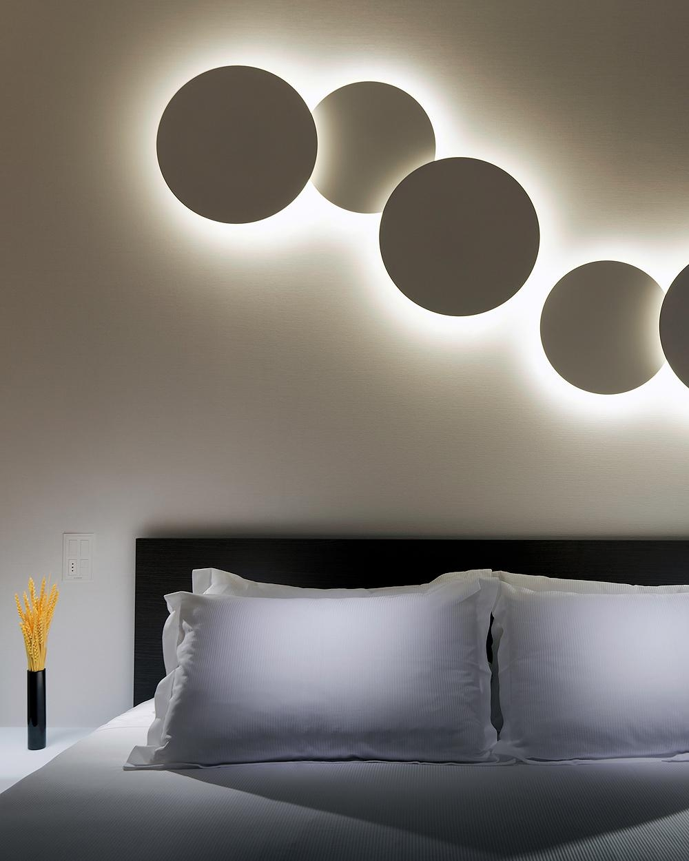 Puck 5468 Wall Art Quadruple Lightvibia | Interior Deluxe In Wall Art Lighting (Image 16 of 20)