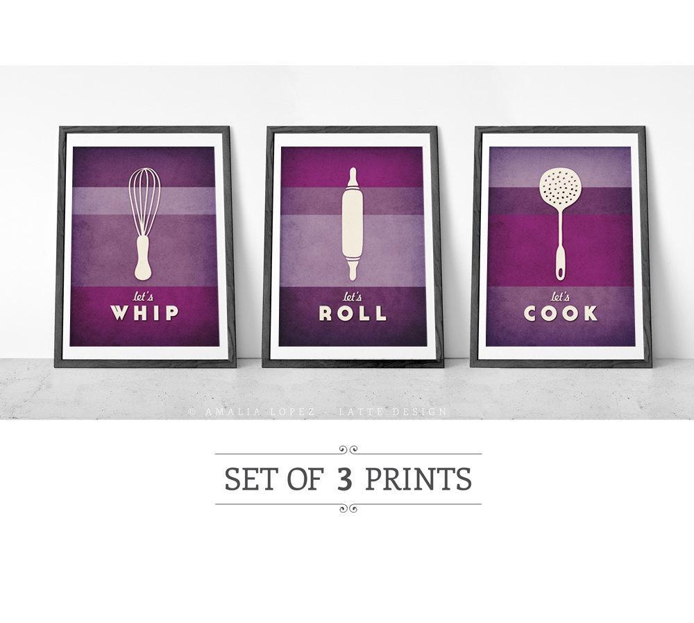 Purple Kitchen Accessories (View 16 of 20)