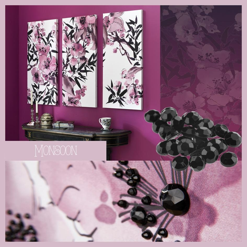 Purple Perfection For Plum Coloured Wall Art (View 3 of 20)