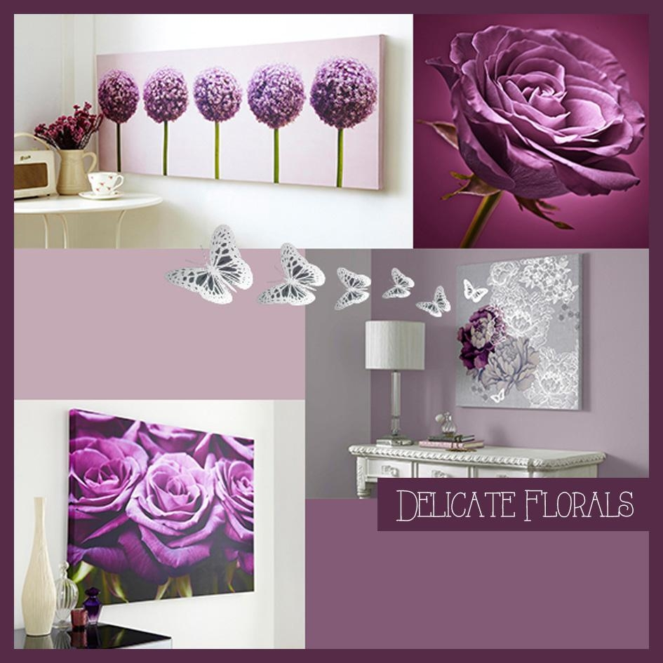 Featured Photo of Plum Coloured Wall Art