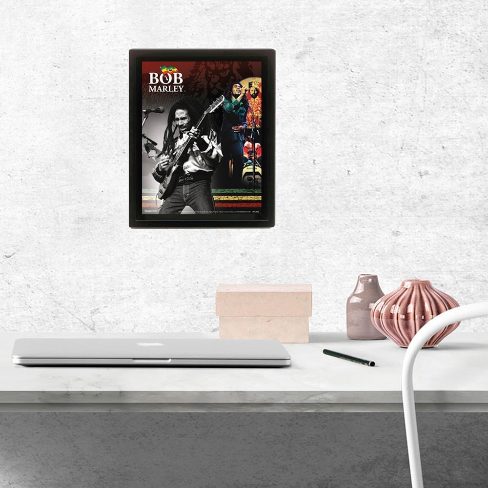 "Pyramid America ""bob Marley"" Wall Art Eppl70046F – The Home Depot Throughout Bob Marley Wall Art (View 8 of 20)"