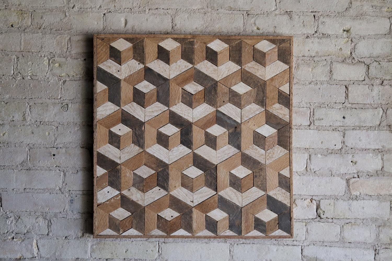 Reclaimed Wood Wall Art   Wood Decor   Reclaimed Wood   Wood Art Intended For Natural Wood Wall Art (Image 12 of 20)