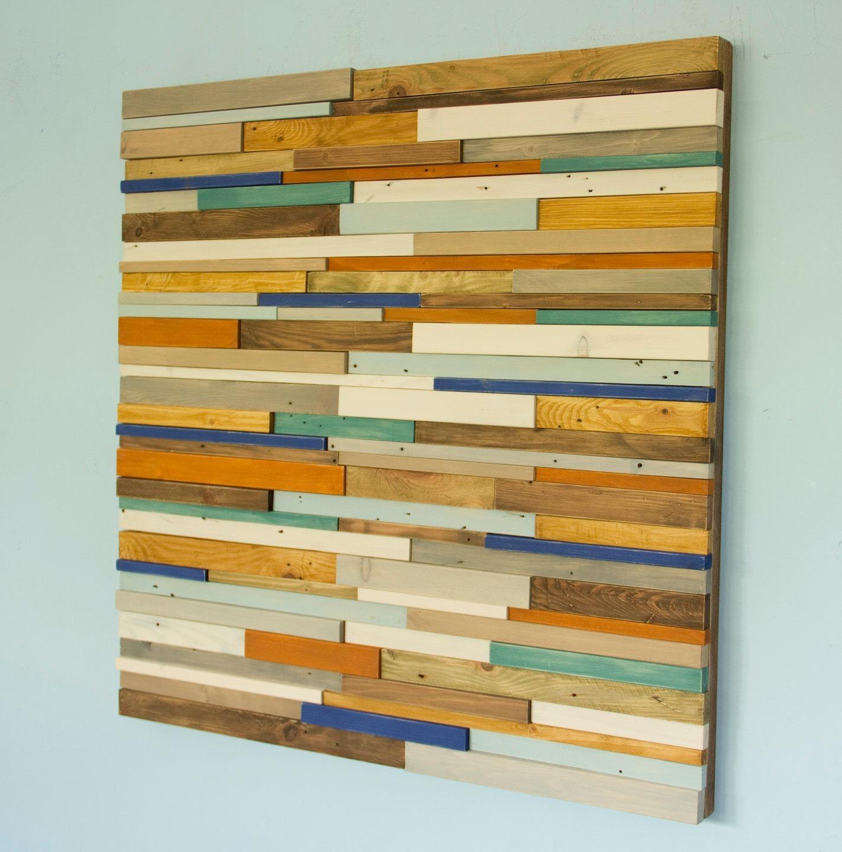 Reclaimed Wood Wall Art. Zoom (Image 16 of 20)