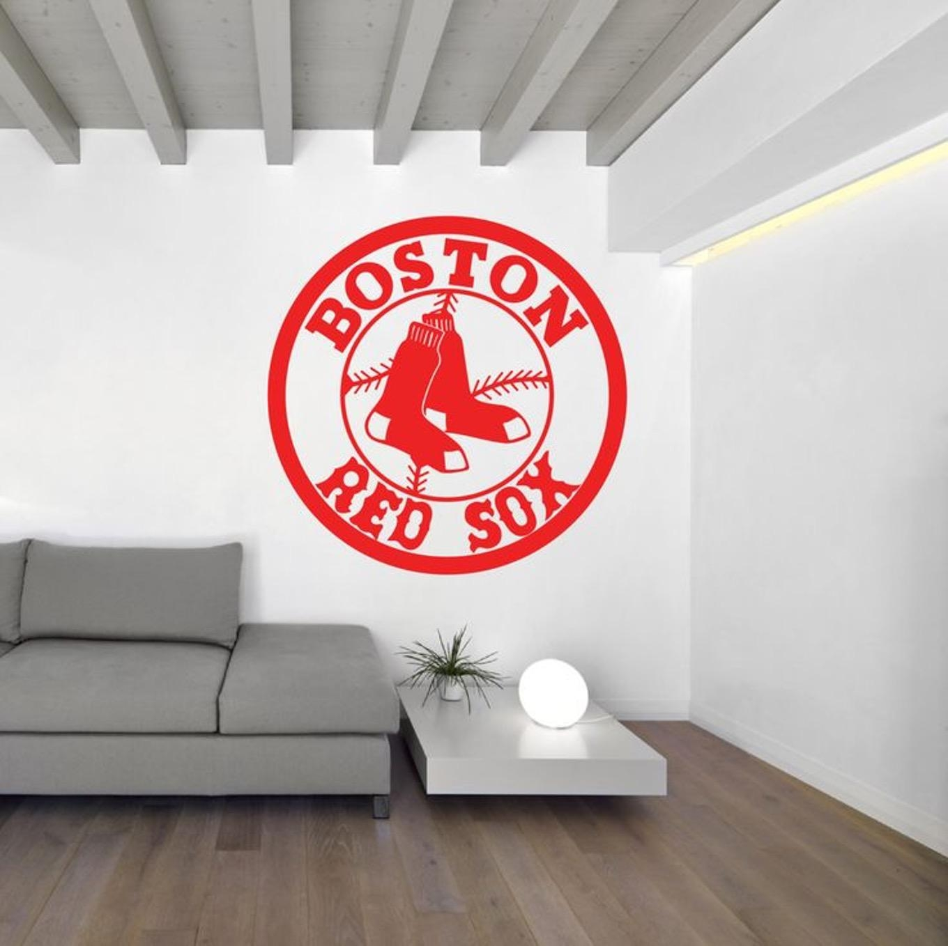 Red Sox Baby Room Decor – Babyroom.club pertaining to Red Sox Wall Decals