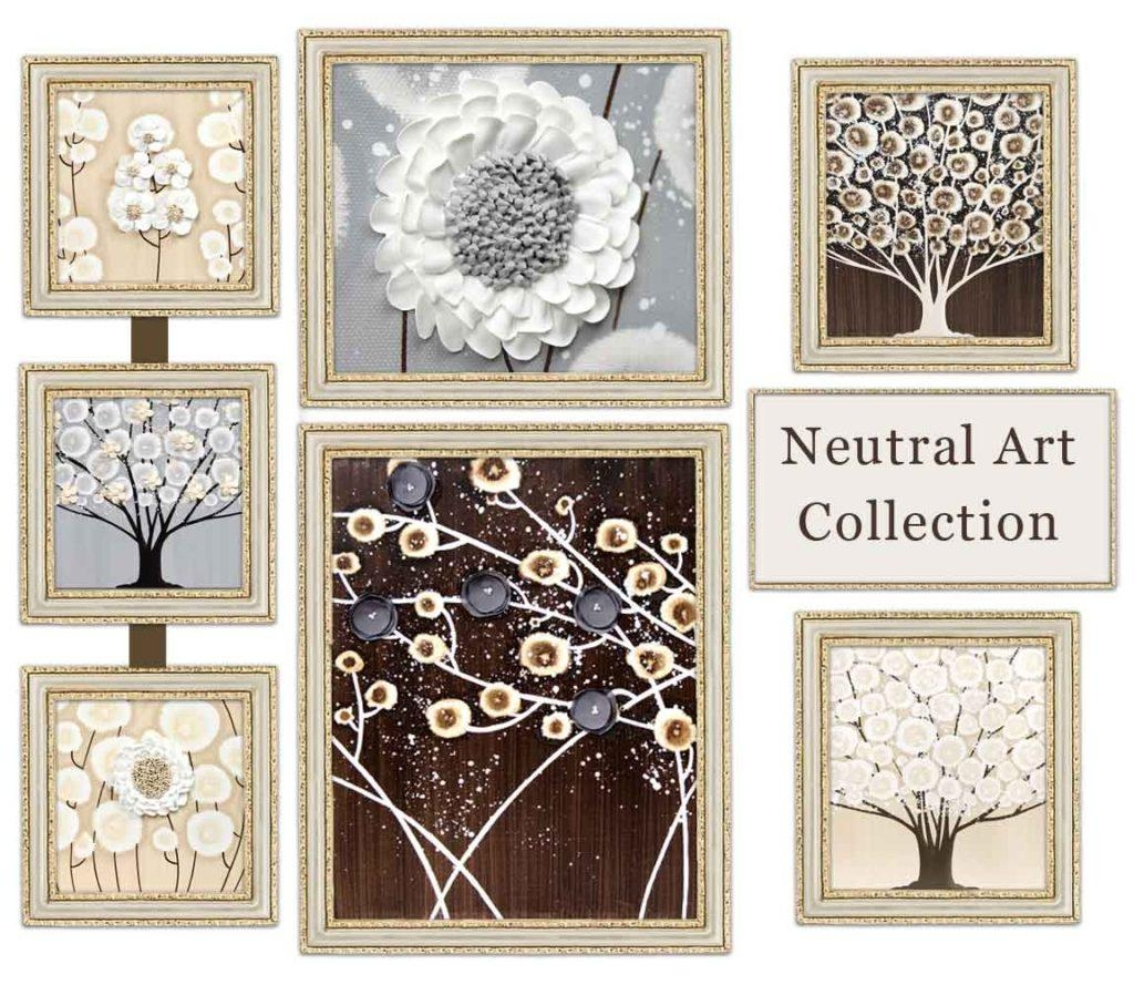 Redesigned Neutral Art Collection Is Now Available | Amborela within Neutral Wall Art