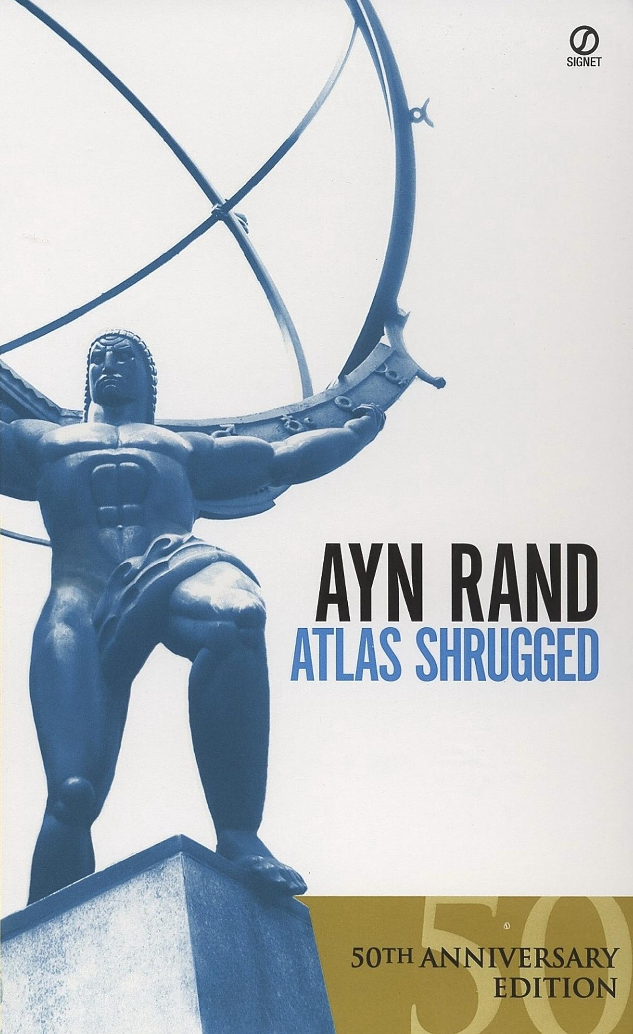 Reflections   Doughnut Manifesto With Atlas Shrugged Cover Art (View 12 of 20)