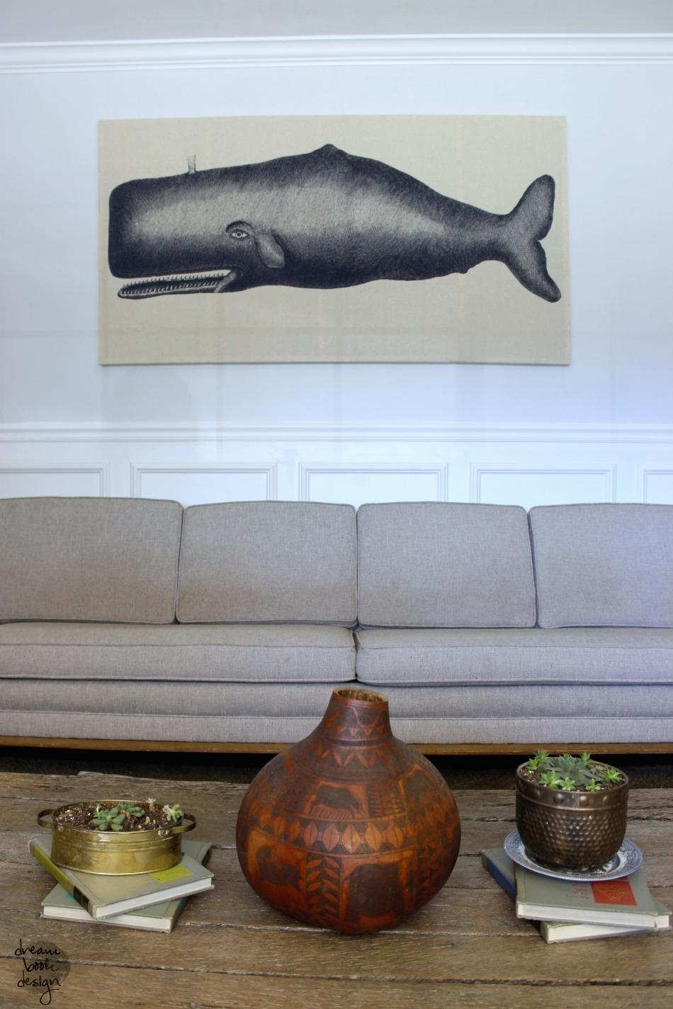 Remodelaholic | 60 Budget-Friendly Diy Large Wall Decor Ideas pertaining to Oversized Wall Art