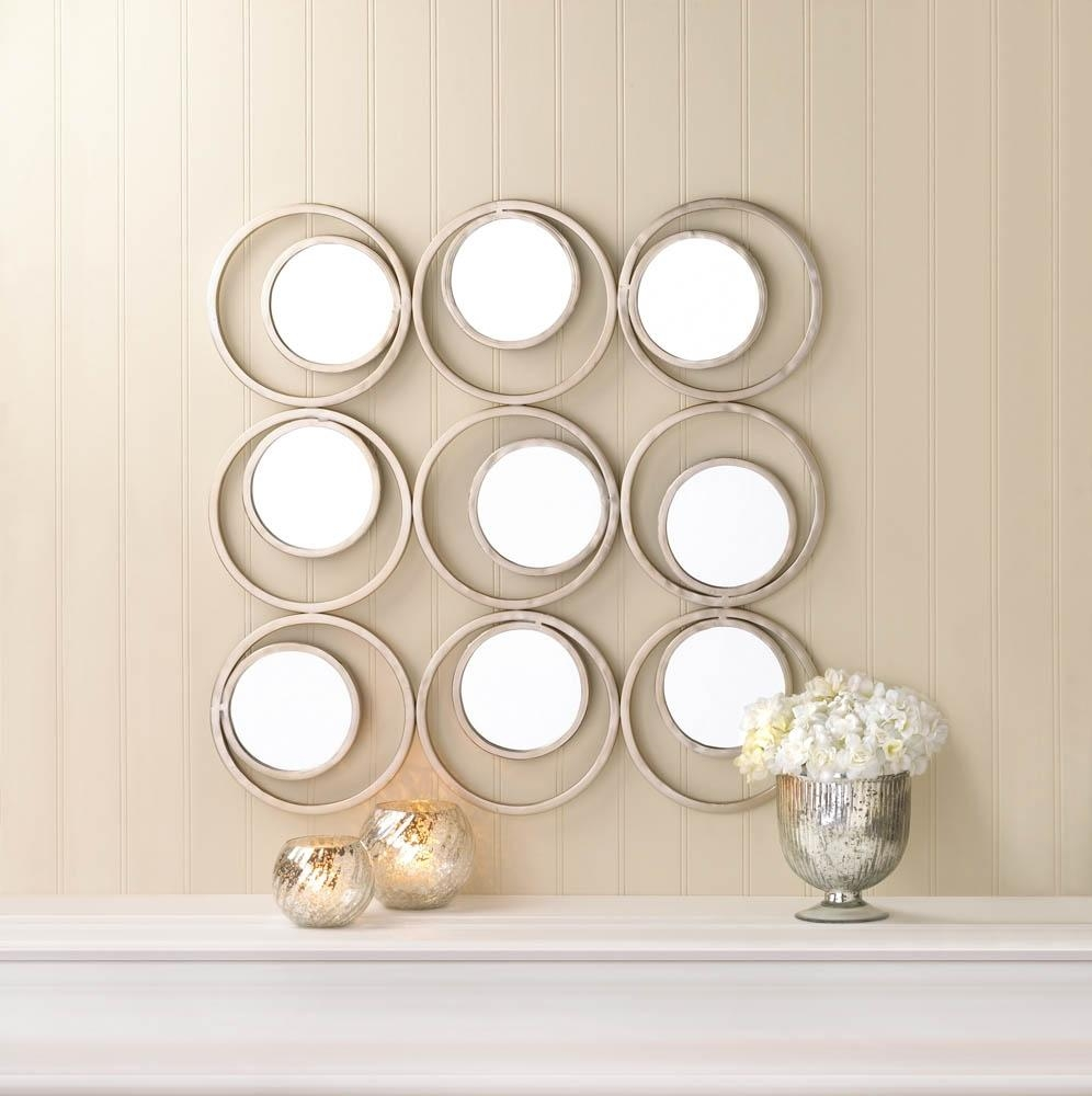 Revolution Circles Wall Mirror throughout Mirror Circles Wall Art