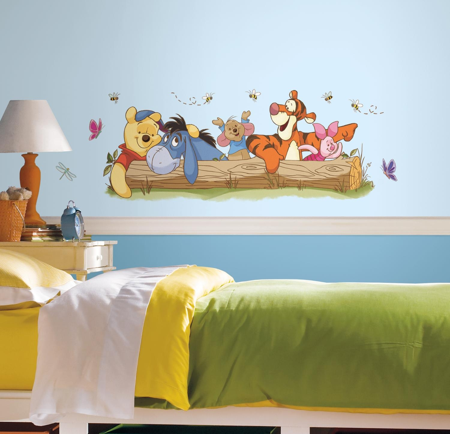Rmk2553Gm Winnie The Pooh – Outdoor Fun Giant Wall Sticker Within Winnie The Pooh Wall Decor (View 2 of 20)