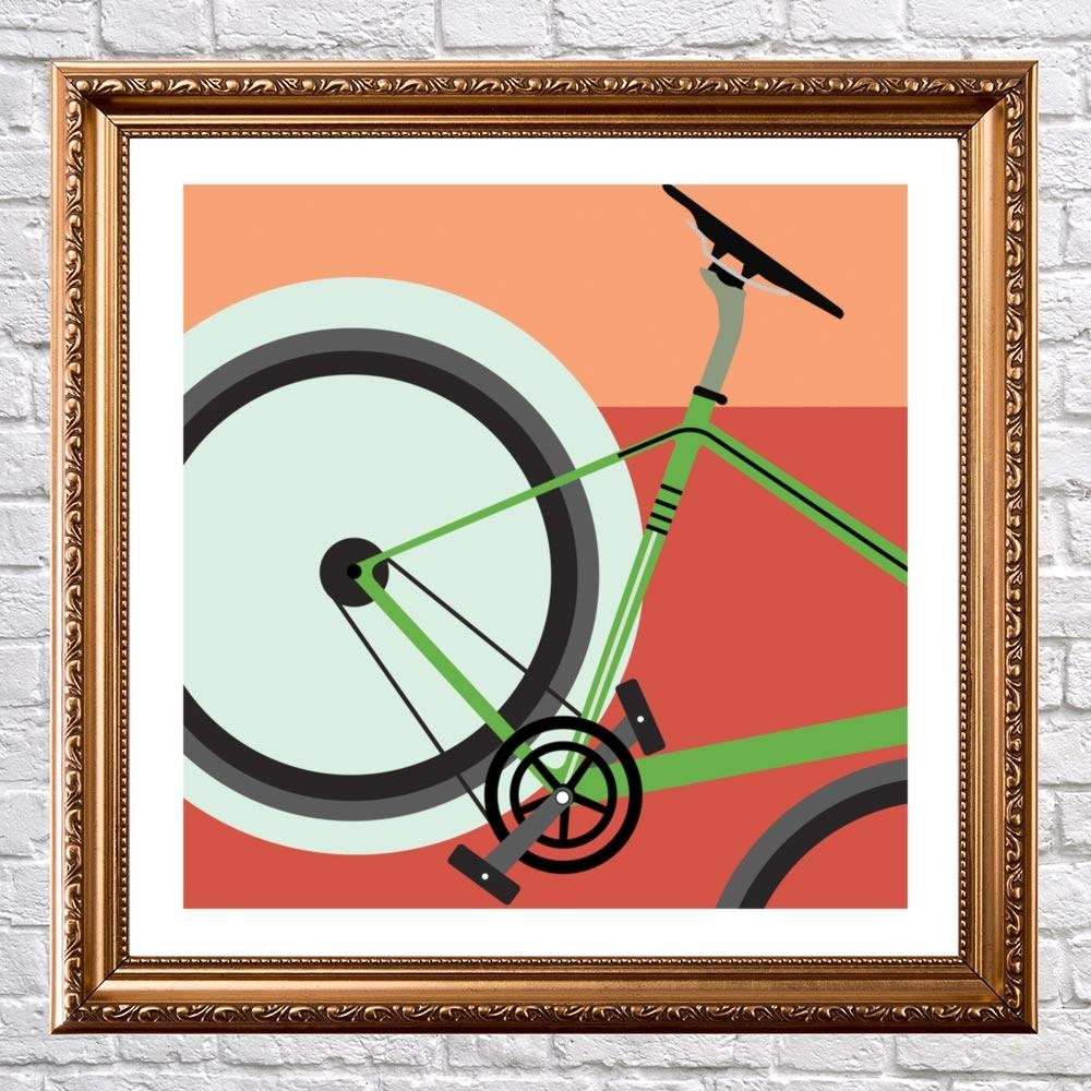 Rocket - Cycling Wall Art - Graff.io in Cycling Wall Art