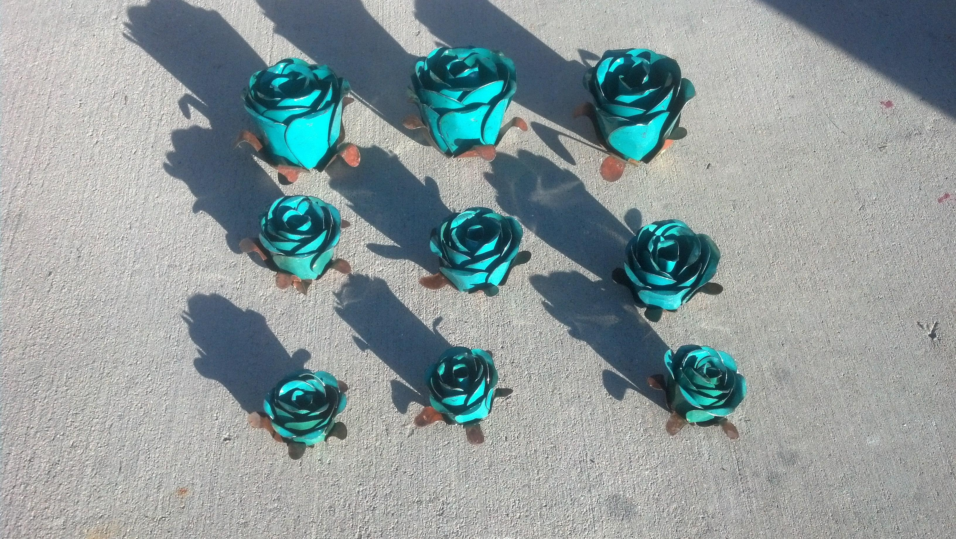 Roses Metal Art From Mexico Wholesale | Westwood Pavillion with Mexican Metal Art