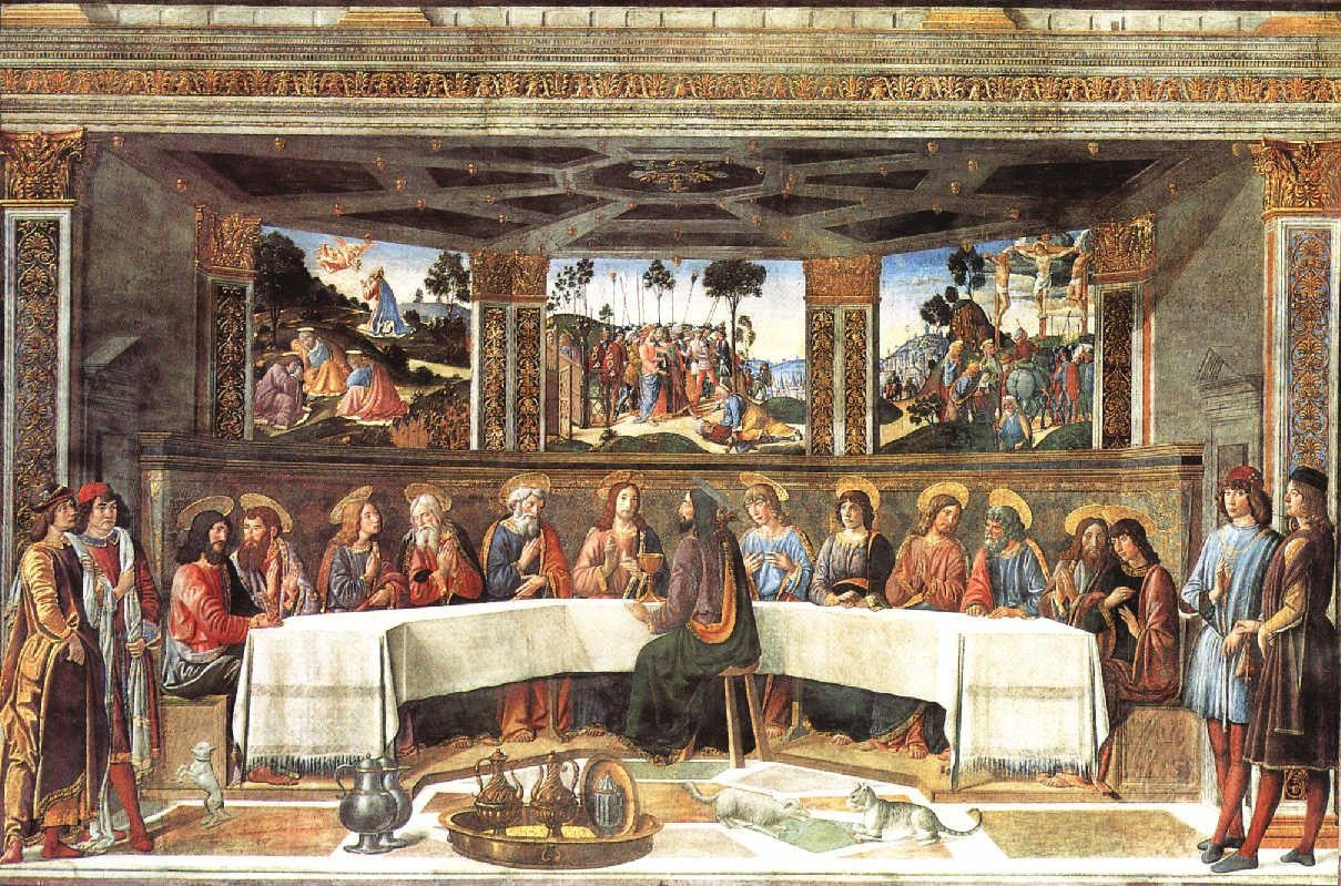 Rosselli: The Last Supper In The Last Supper Wall Art (Image 17 of 20)