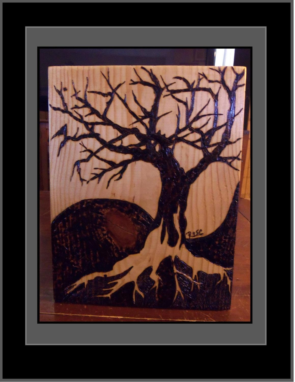 Rustic Decorcabin Decortree Of Lifetree Artwood with regard to Celtic Tree Of Life Wall Art