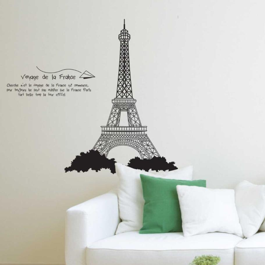 Search On Aliexpressimage Pertaining To Eiffel Tower Wall Hanging Art (View 8 of 20)