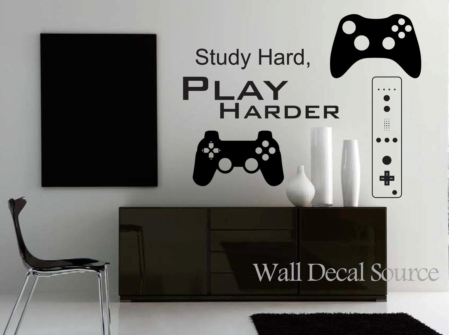 Search Pictures Of Video Game Wall Decals U2013 Home Decor Ideas Pertaining To Video  Game Wall