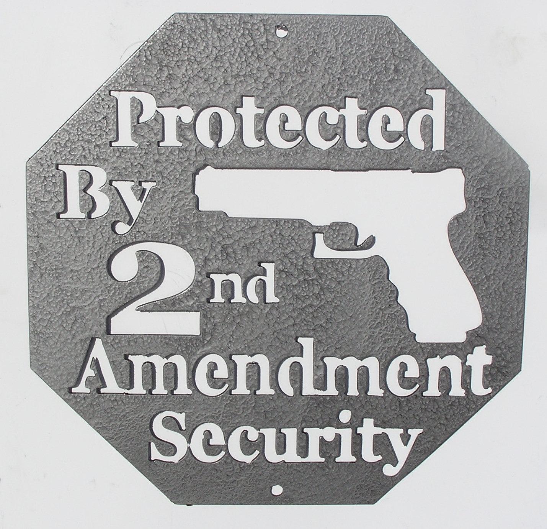 Second Amendment Metal Wall Art – Country Wonders Intended For Country Metal Wall Art (Image 15 of 20)