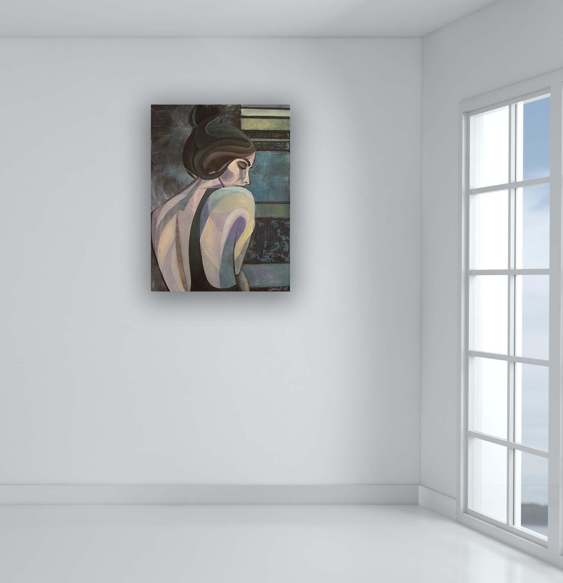 Sensual 2 Painting Of Beautiful Woman Inspiredart Deco With Sensual Wall Art (View 16 of 20)