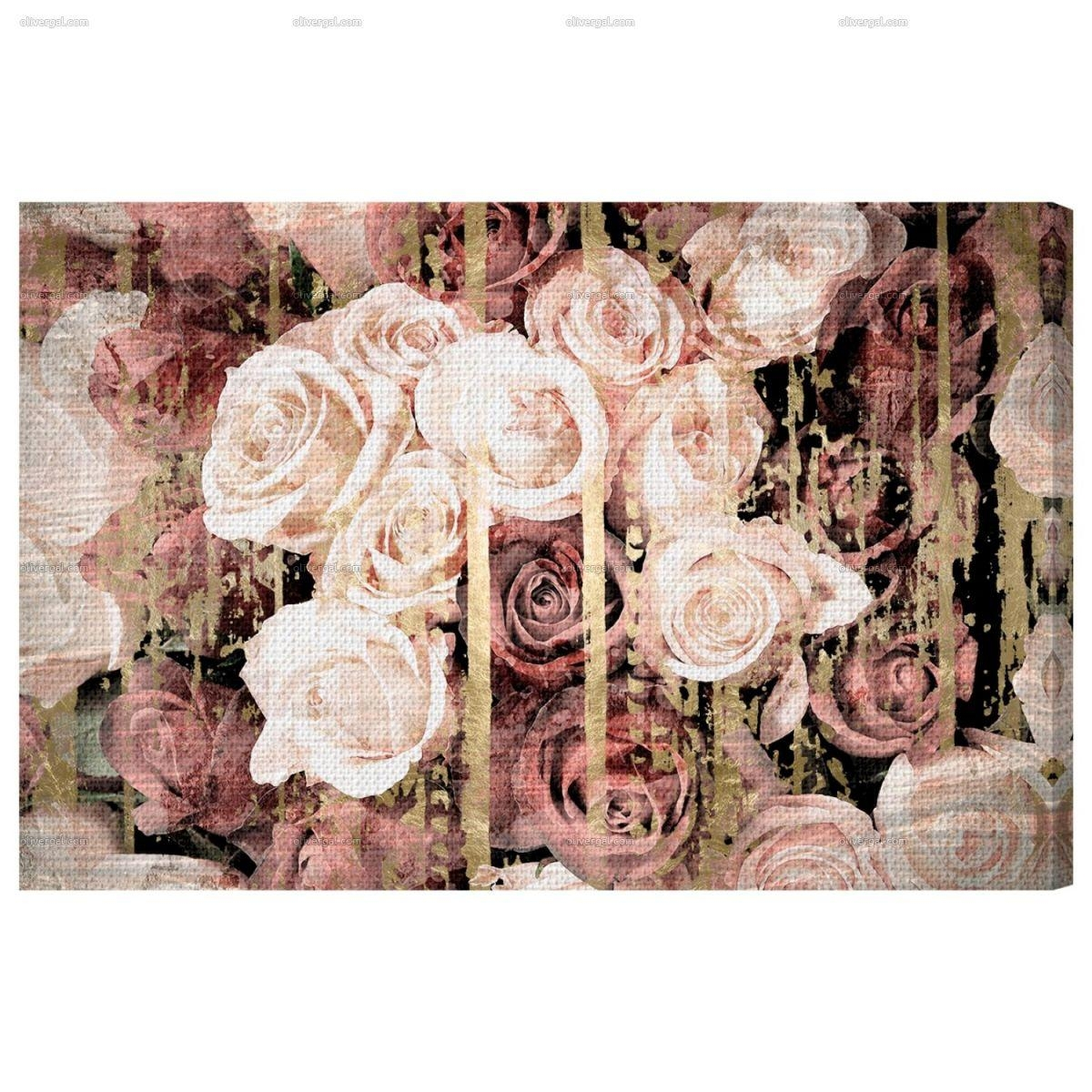 Shabby Chic Romance — Oliver Gal Intended For Shabby Chic Canvas Wall Art (Image 13 of 20)