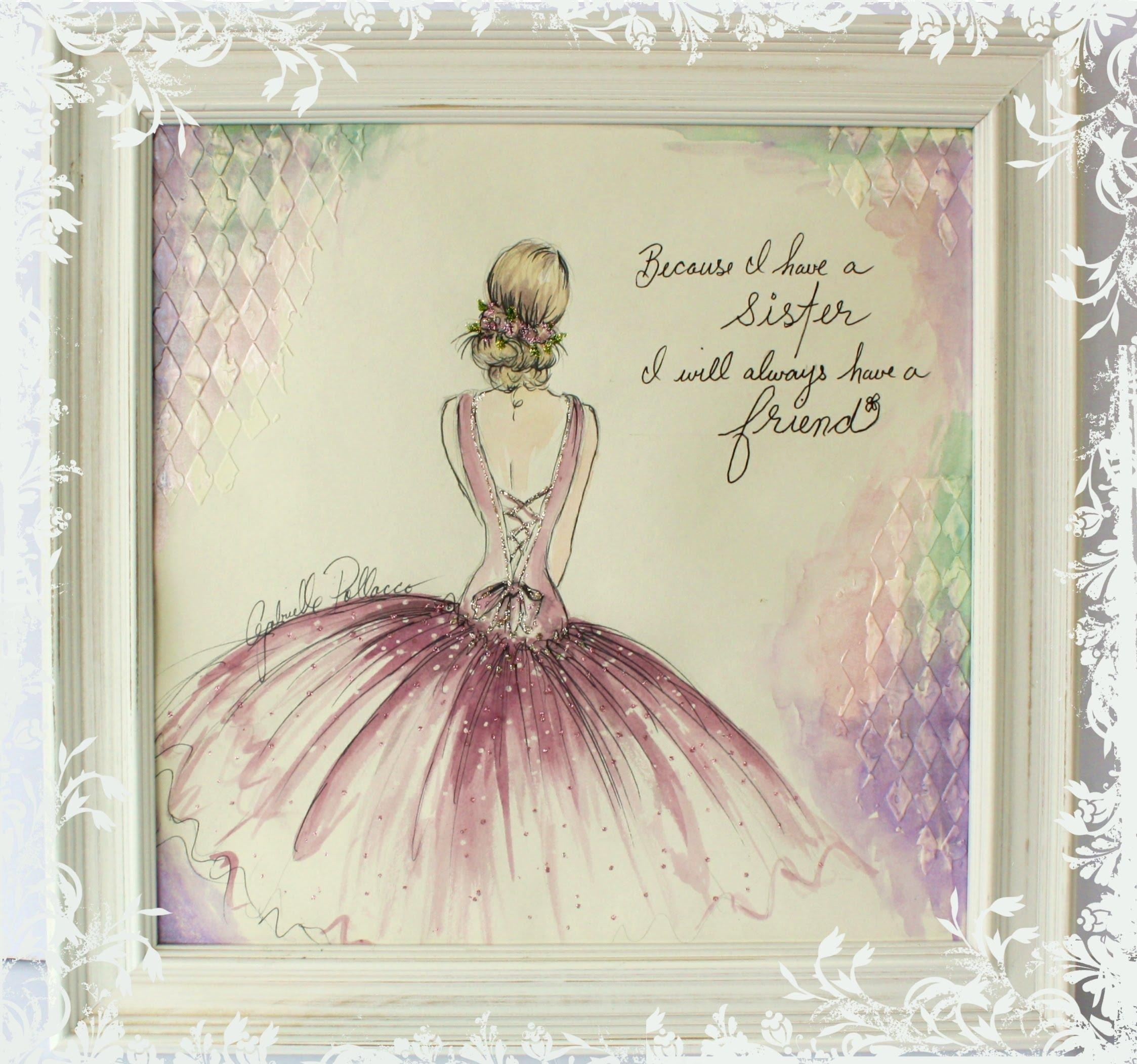 High Quality Featured Image Of Shabby Chic Canvas Wall Art