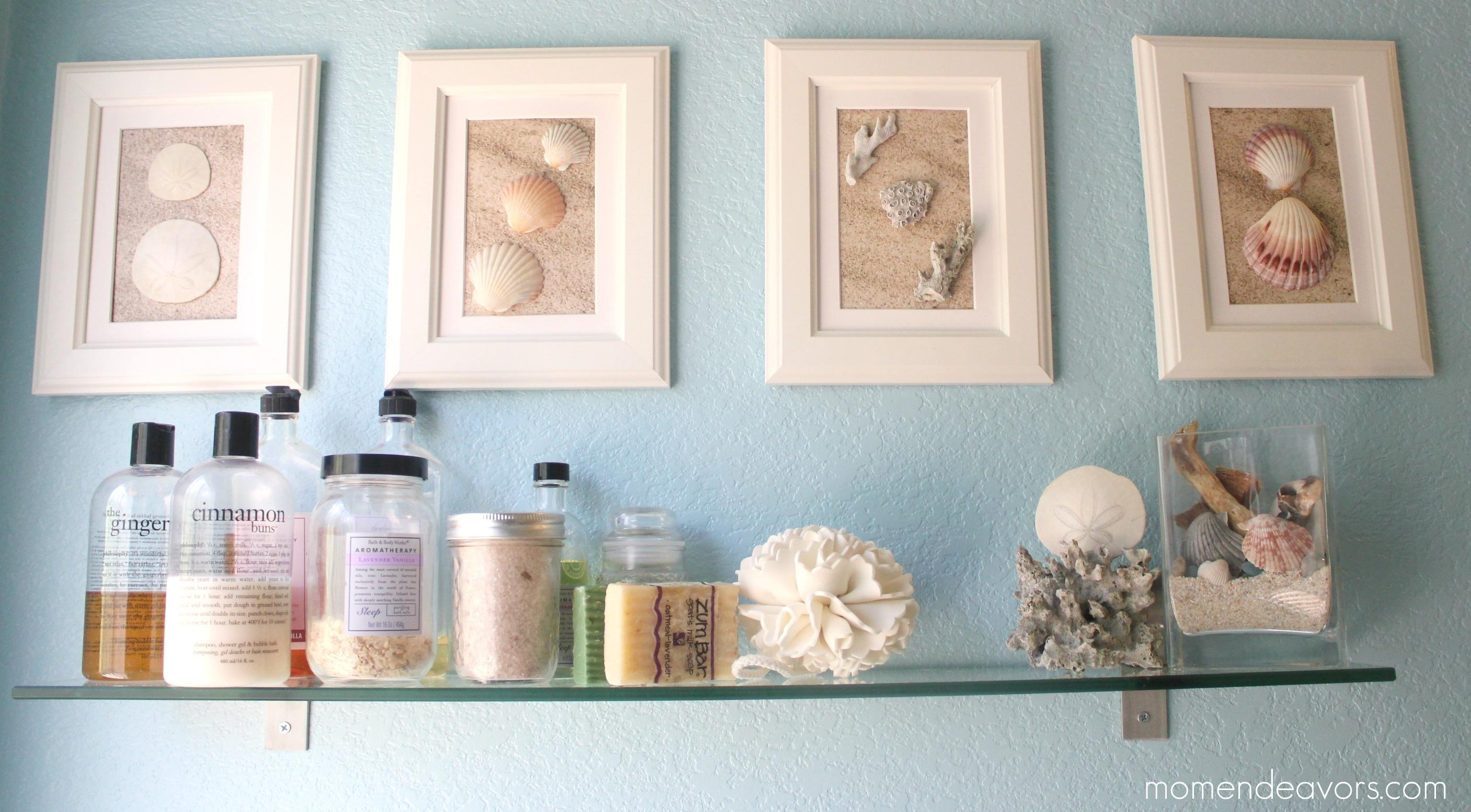 Shell Bathroom Wall Decor Diy, Have You Made Anything With Shells Pertaining To Capiz Shell Wall Art (Image 20 of 20)