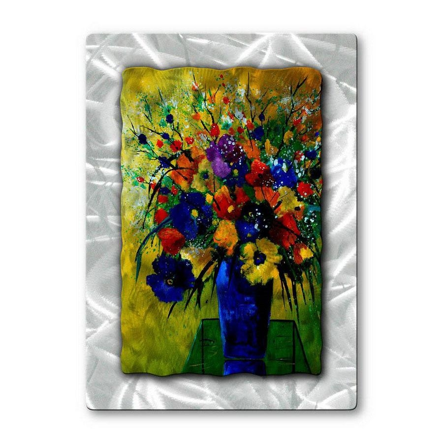 Shop All My Walls 23 In W X 32 In H Botanical Metal Wall Art At Pertaining To Botanical Metal Wall Art (Image 11 of 20)
