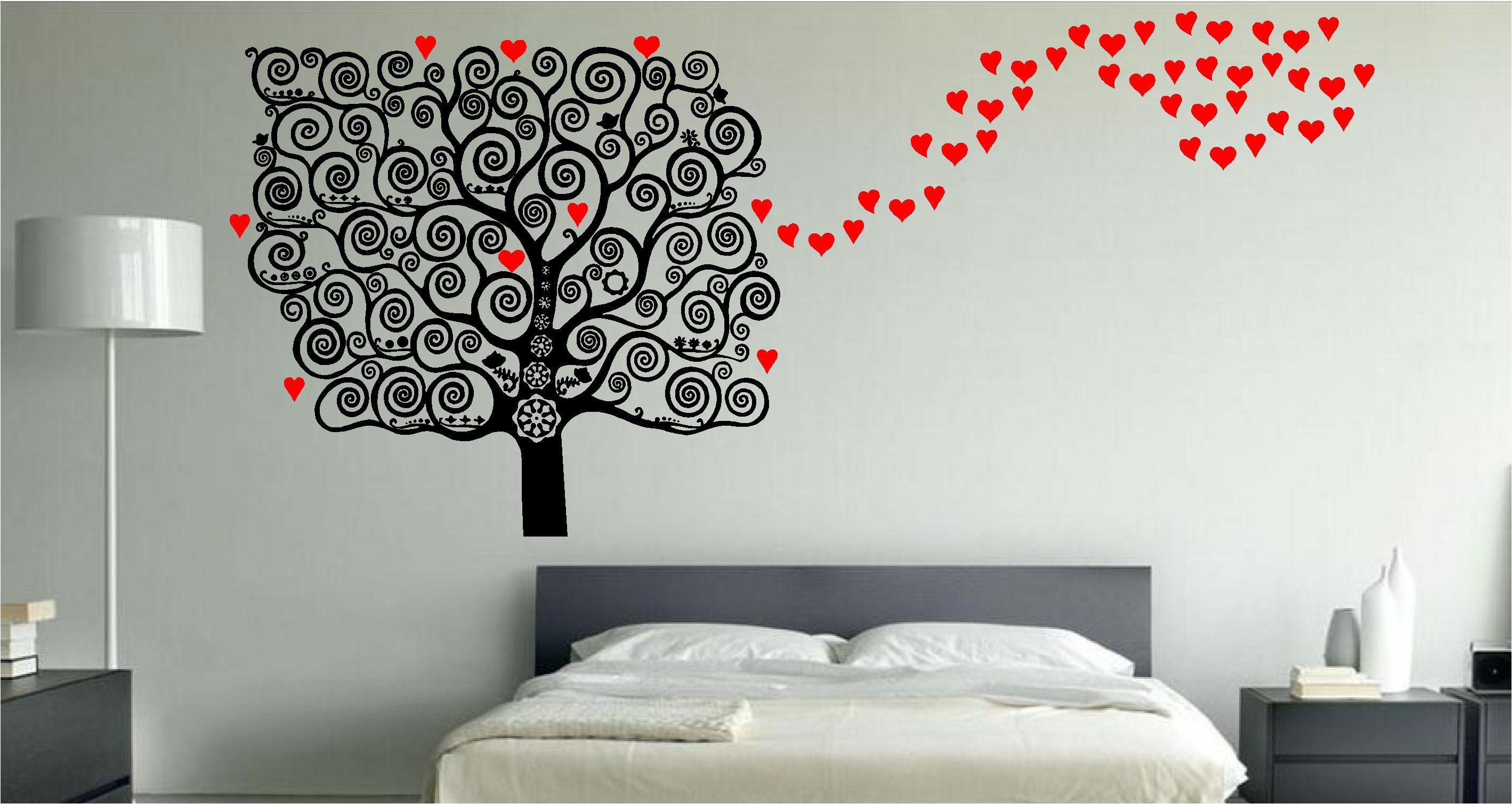 Simple Small Master Bedroom Decorating Ideas Home Lately Intended For Bed Wall Art (View 4 of 20)