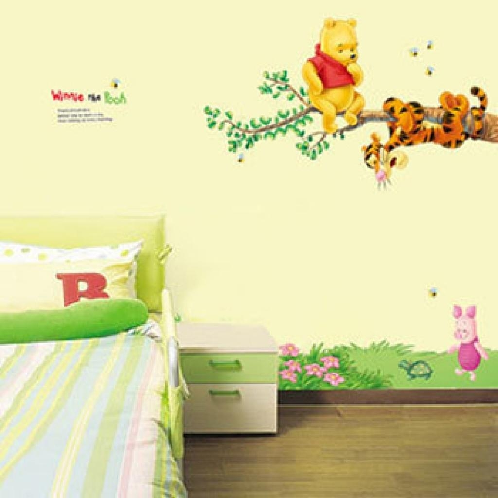 Simple Wall Plywood Decorations | Home Interior Wall Decoration Regarding Winnie The Pooh Wall Decor (View 12 of 20)