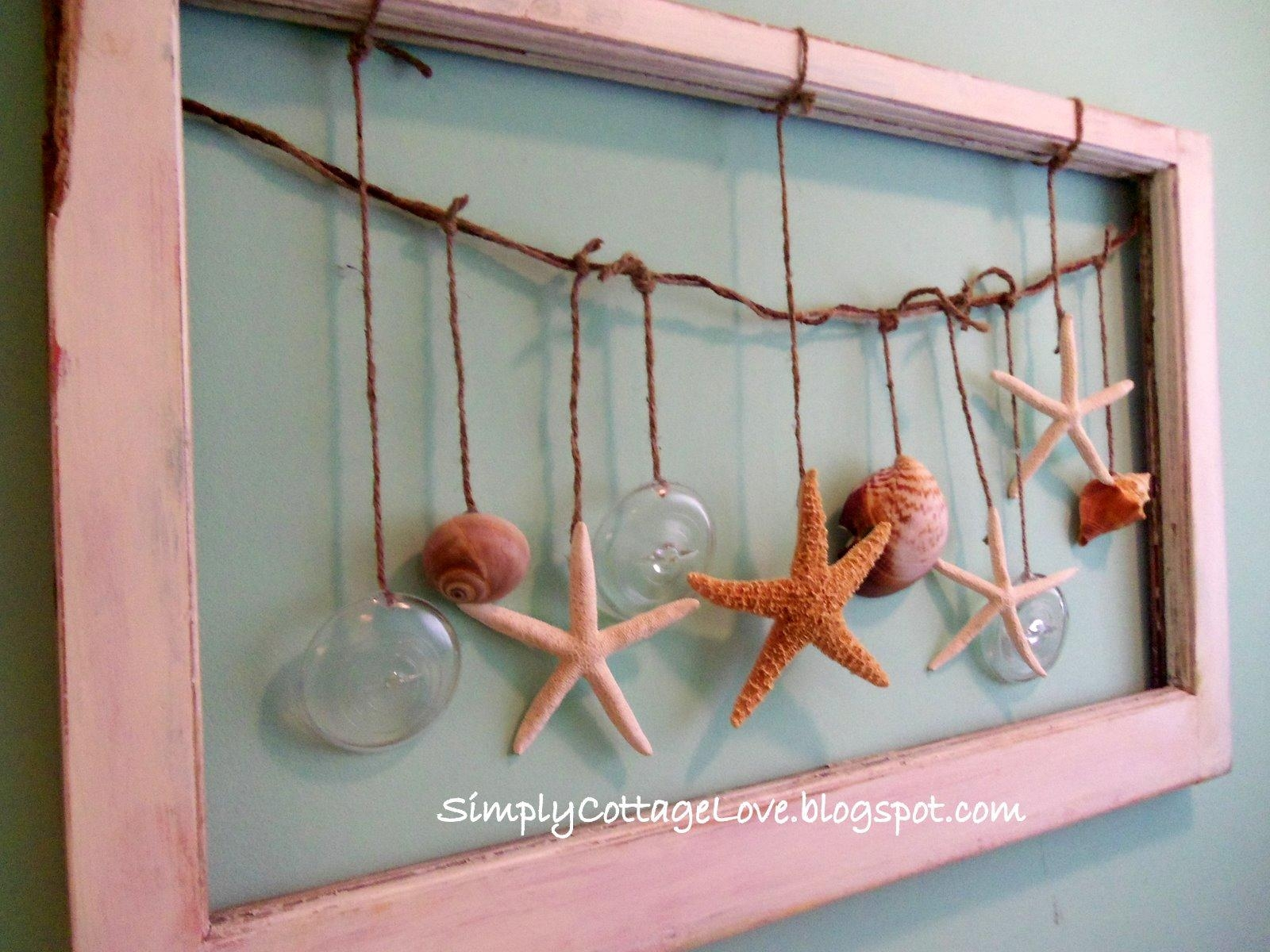 Simply Cottage Love: Beachy Wall Art Pertaining To Beach Theme Wall Art (Image 13 of 20)