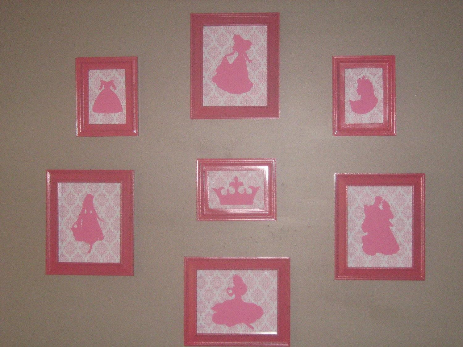 Featured Image of Disney Princess Framed Wall Art