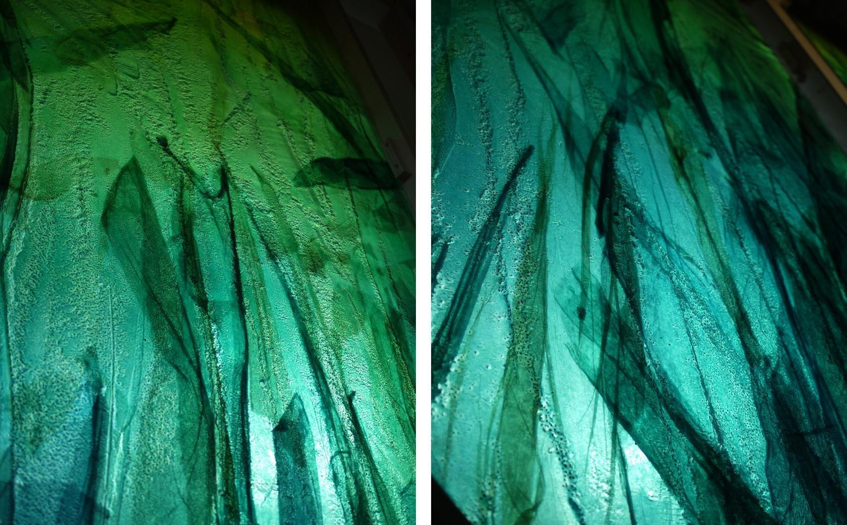 Slumped Glass Wall Art – Bradley+Basso Studio With Glass Wall Artworks (Image 18 of 20)