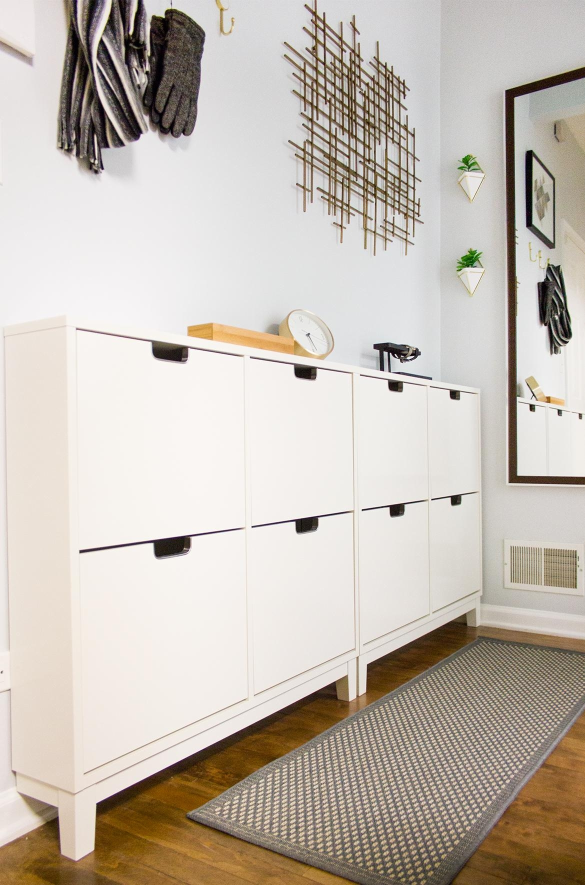 Small & Narrow Hallway – Delish&decor Throughout Target Metal Wall Art (View 4 of 20)