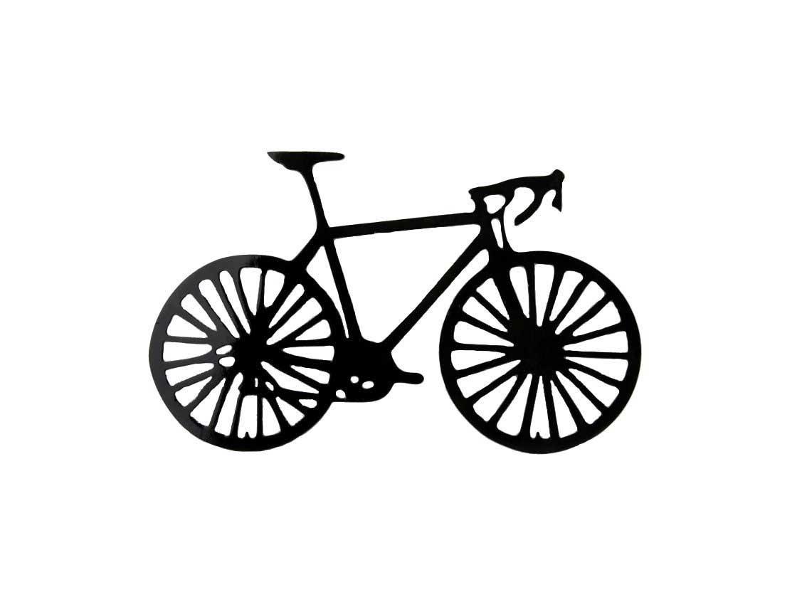 Smw162 Metal Road Bike Wall Art – Sunriver Metal Works Within Bicycle Metal Wall Art (View 11 of 20)