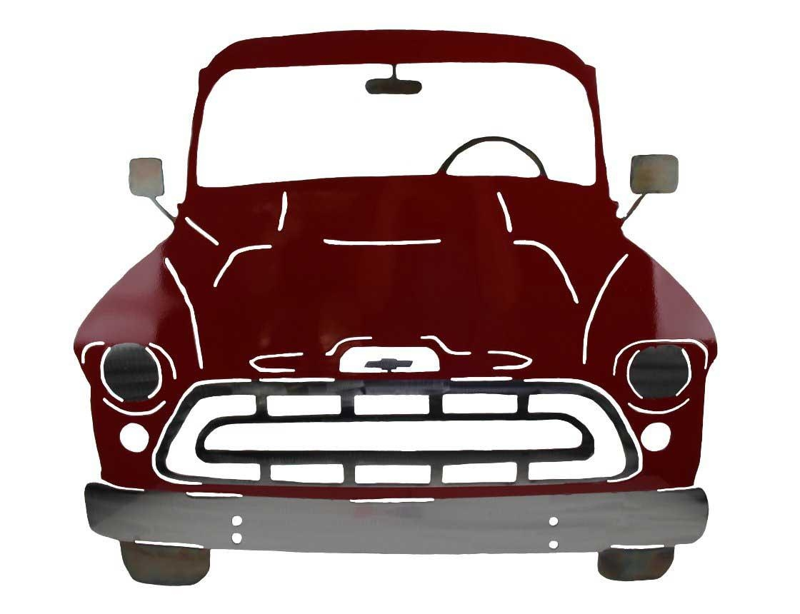 Smw283 Custom Metal Classic Car Wall Art Chevy Coupe – Sunriver Throughout Classic Car Wall Art (Image 16 of 20)