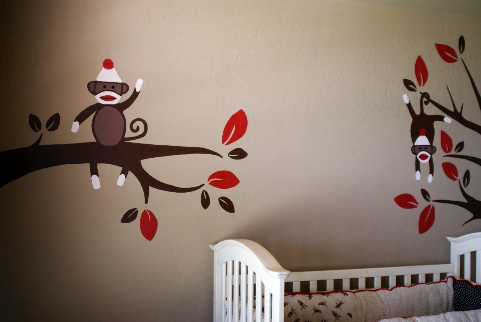 Sock Monkey Nursery Ideas — Modern Home Interiors Within Sock Monkey Wall Art (View 2 of 20)