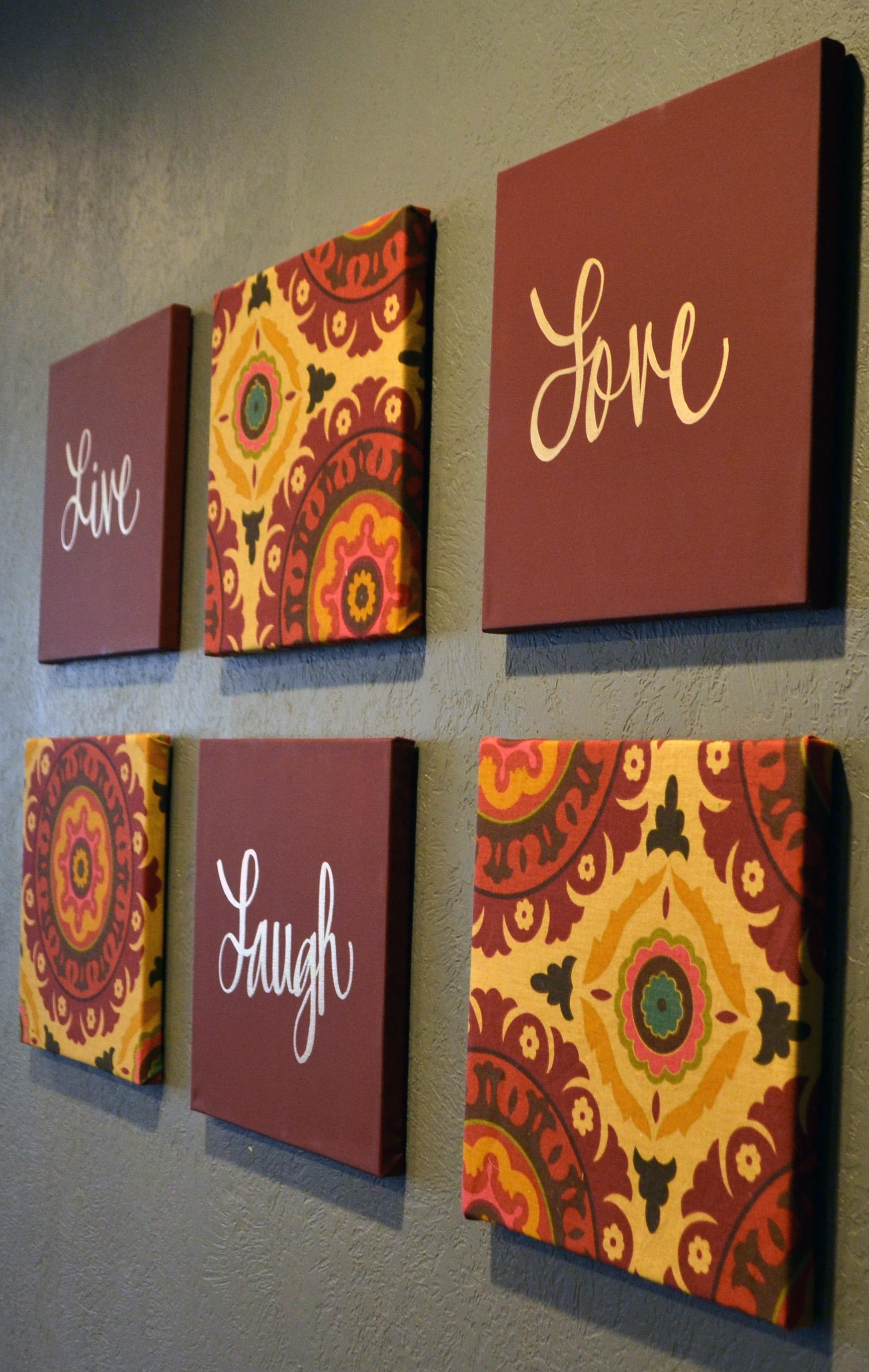 Featured Image of Burgundy Wall Art