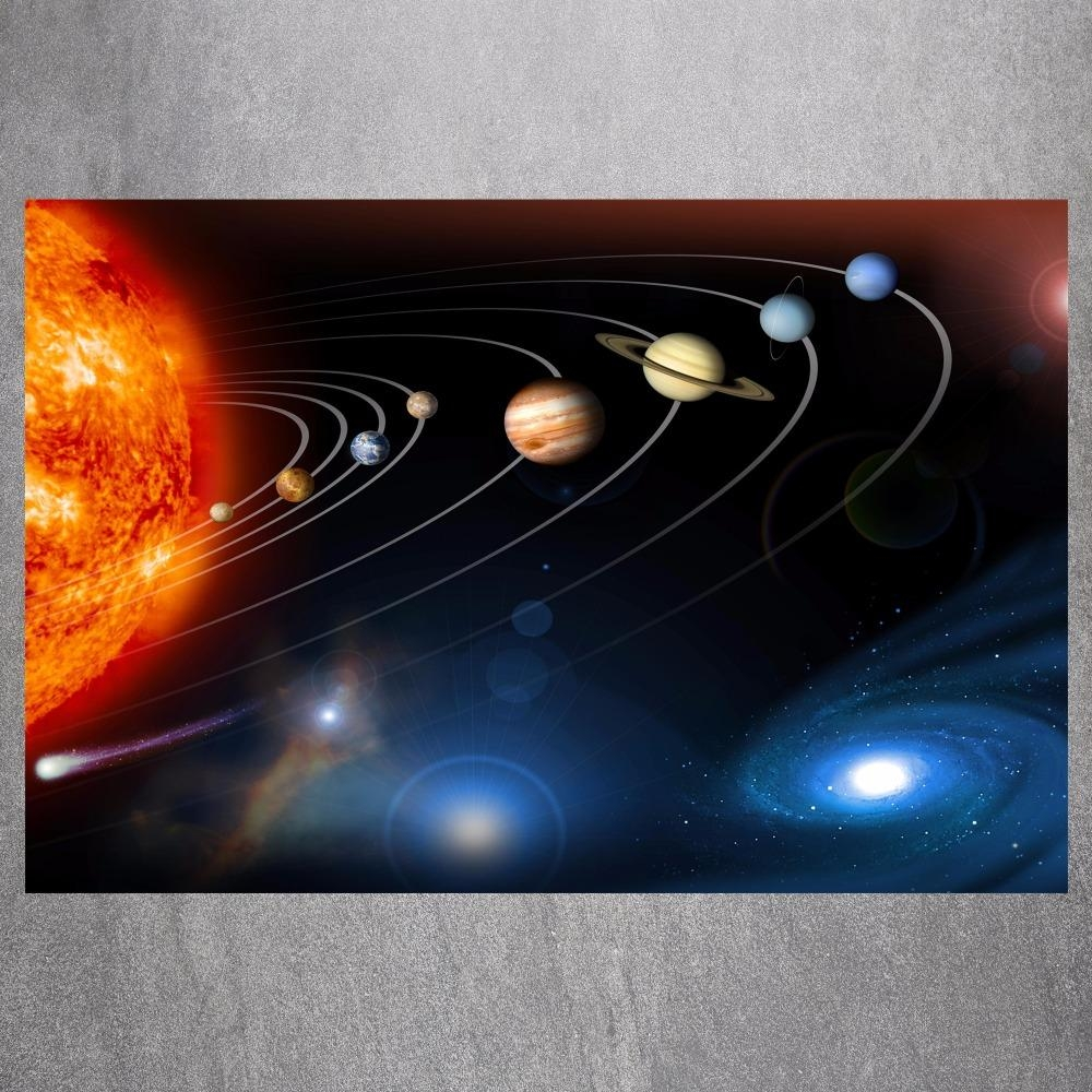 Solar System Art Promotion Shop For Promotional Solar System Art With Regard To Solar System Wall Art (View 2 of 20)