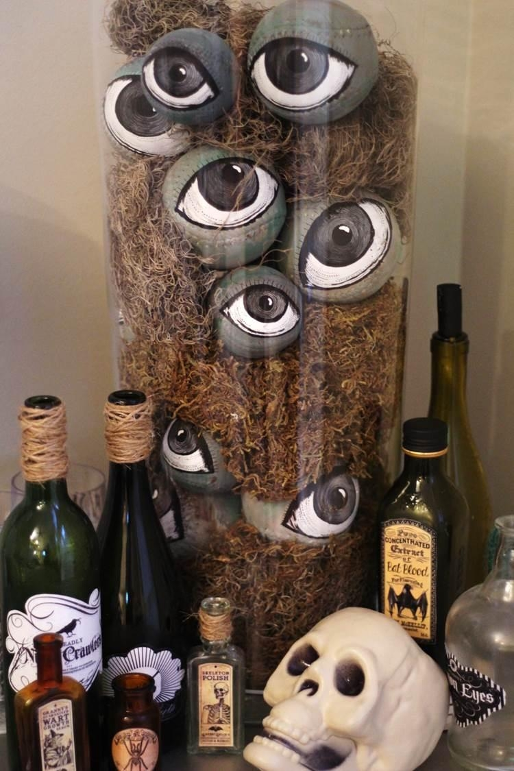 Spooky Diy Halloween Eyeballs | Peachfully Chic With Regard To Grandin Road Wall Art (View 20 of 20)