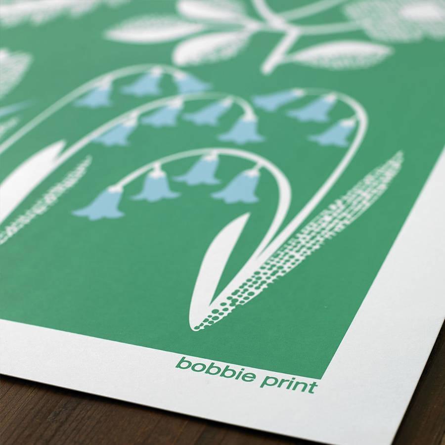 Spring Seasonal Screen Printed Wall Artbobbie Print Throughout Seasonal Wall Art (Image 12 of 20)