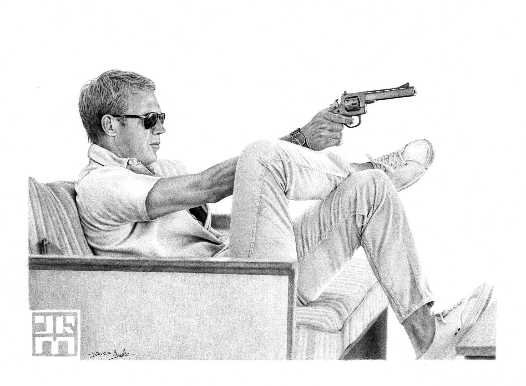Steve Mcqueen | 411Posters For Steve Mcqueen Wall Art (Image 12 of 20)
