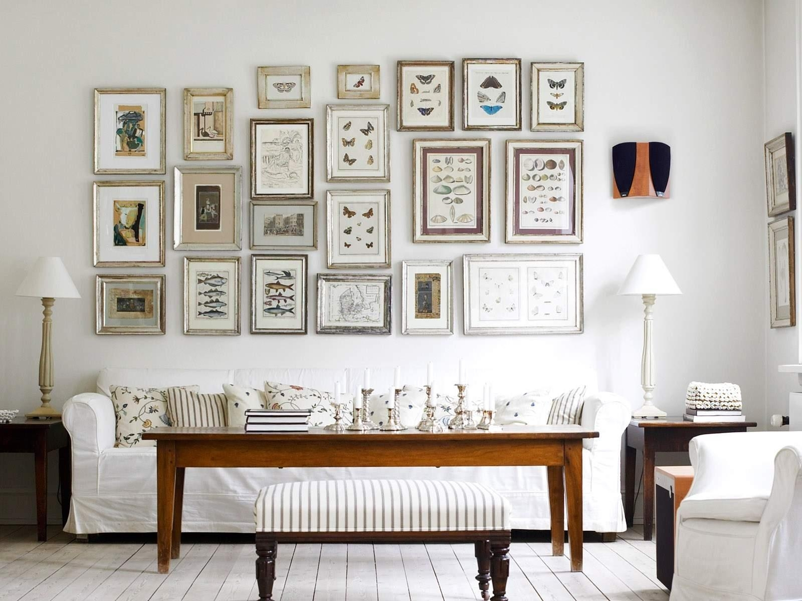 Stunning White Tone Of Wall Art For Living Room Furniture Design In Insect Wall Art (Image 19 of 20)