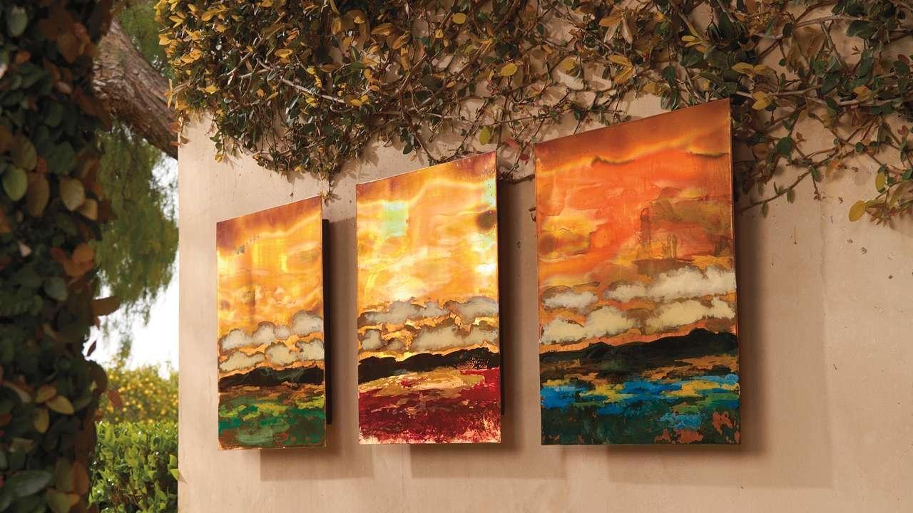 Stylish Outdoor Wall Art Decor | Jeffsbakery Basement & Mattress Regarding Copper Outdoor Wall Art (Image 17 of 20)