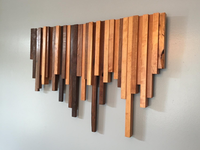 Stylish Wood Wall Art Decor | Jeffsbakery Basement & Mattress Within Wood Wall Art (Image 14 of 20)