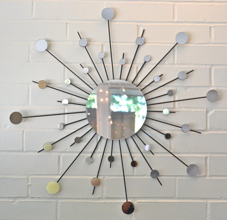 Sun Mirror Wall Decor — Unique Hardscape Design : Mirror Wall Regarding Diy Mirror Wall Art (View 10 of 20)