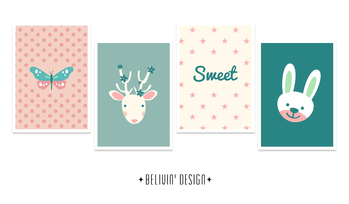 Sweet Baby Wall Decor – Free Printable – Belivindesign Throughout Baby Wall Art (View 12 of 20)